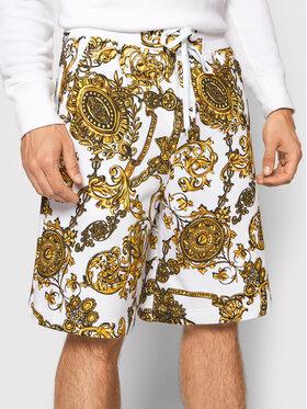 Versace Jeans Couture Versace Jeans Couture Szorty sportowe 71GAD3P0 Biały Regular Fit