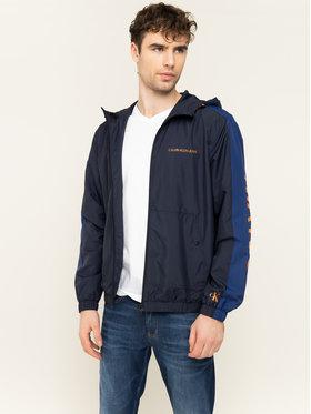 Calvin Klein Jeans Calvin Klein Jeans Prechodná bunda Windbreaker J30J314239 Tmavomodrá Regular Fit