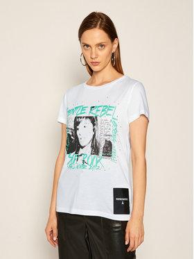 Patrizia Pepe Patrizia Pepe T-shirt 8M1070/A7K4-W103 Bianco Regular Fit