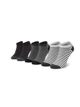 Pepe Jeans Pepe Jeans Súprava 3 párov nízkych členkových ponožiek Delbert PMU10707 Čierna