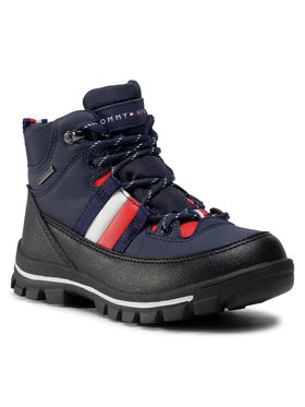 Tommy Hilfiger Tommy Hilfiger Trapery Technical Bootie T3B5-30968-0751800 M Granatowy