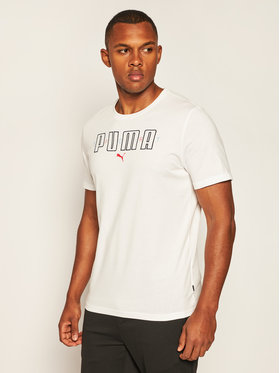 Puma Puma T-shirt Brand Tee 584509 Bianco Regular Fit