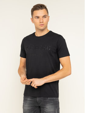 Iceberg Iceberg T-Shirt 20EI1P0F0146331 Czarny Regular Fit