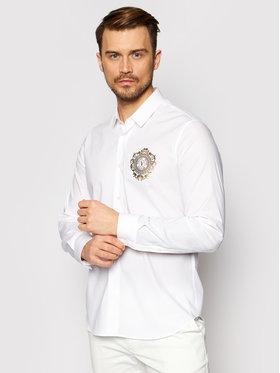 Versace Jeans Couture Versace Jeans Couture Marškiniai B1GWA6S5 Balta Slim Fit