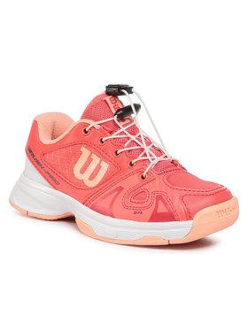 Wilson Wilson Buty Rush Pro Jr Ql WRS326250 Pomarańczowy