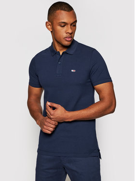 Tommy Jeans Tommy Jeans Polo Classics Solid Stretch DM0DM09439 Blu scuro Regular Fit