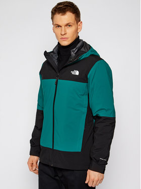 The North Face The North Face Többfunkciós dzseki Mountain Light Fl Triclimate NF0A4R2IW641 Zöld Regular Fit