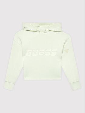 Guess Guess Bluza J1BQ10 KAMN2 Zielony Regular Fit