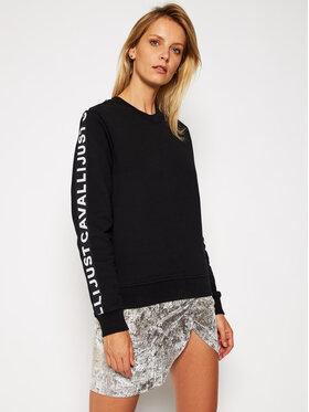 Just Cavalli Just Cavalli Sweatshirt S02GU0112 Schwarz Regular Fit