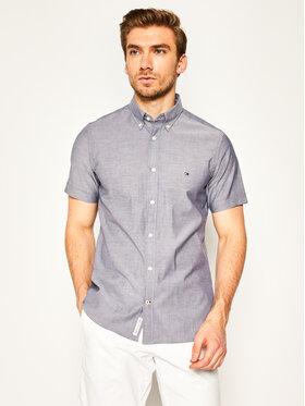 TOMMY HILFIGER TOMMY HILFIGER Košile Soft Poplin Shirt MW0MW12757 Šedá Regular Fit