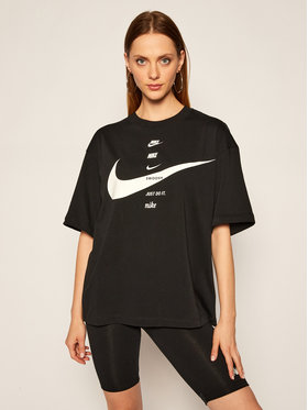 NIKE NIKE T-Shirt Sportswear CU5682 Schwarz Oversize