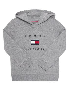 TOMMY HILFIGER TOMMY HILFIGER Μπλούζα Logo KB0KB06142 M Γκρι Regular Fit