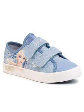 Geox Geox Sneakers aus Stoff J Ciak G. H J0204H 00010 C4017 S Blau