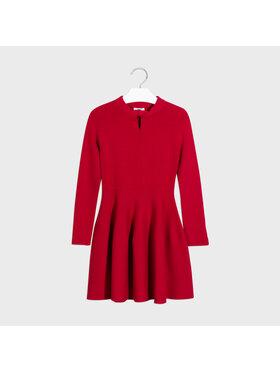 Mayoral Mayoral Sukienka elegancka 7963 Czerwony Regular Fit