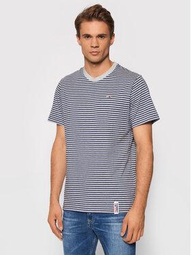 Tommy Jeans Tommy Jeans T-Shirt Tjm Stripe Tab DM0DM09740 Granatowy Regular Fit