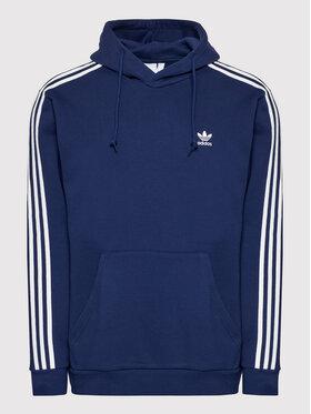 adidas adidas Bluză adicolor Classics 3-Stripes H06677 Bleumarin Regular Fit