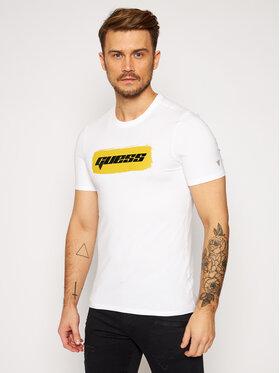 Guess Guess T-shirt M0BI80 J1300 Blanc Slim Fit