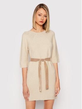 Marella Marella Robe en tricot Giada 33260117 Marron Regular Fit