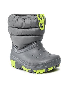 Crocs Crocs Śniegowce Classic Neo Puff Boot K 207275 Szary