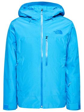 The North Face The North Face Lyžiarska bunda Descendit NF0A4QWWW8G1 Modrá Regular Fit