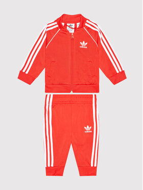 adidas adidas Dres adicolor Sst Track H35600 Czerwony Regular Fit