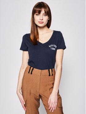 Tommy Jeans Tommy Jeans T-Shirt New York DW0DW07343 Σκούρο μπλε Slim Fit
