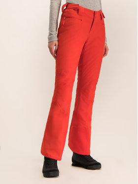 The North Face The North Face Lyžařské kalhoty Presena NF0A3M5D15Q Oranžová Slim Fit