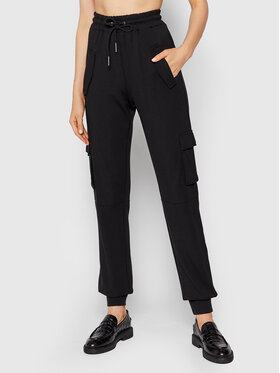 Noisy May Noisy May Spodnie dresowe Palma 27015702 Czarny Regular Fit