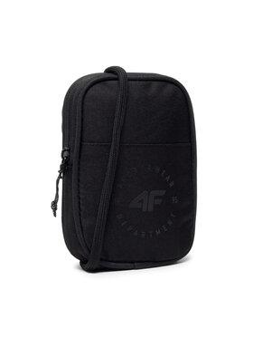 4F 4F Мъжка чантичка D4L21-TRU300 Черен