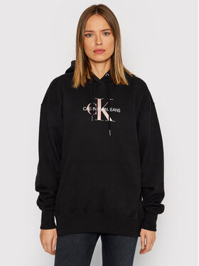 Calvin Klein Jeans Calvin Klein Jeans Sweatshirt J20J216957 Schwarz Oversize