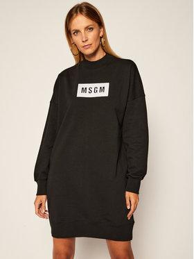 MSGM MSGM Úpletové šaty 2941MDA79 207799 Černá Regular Fit