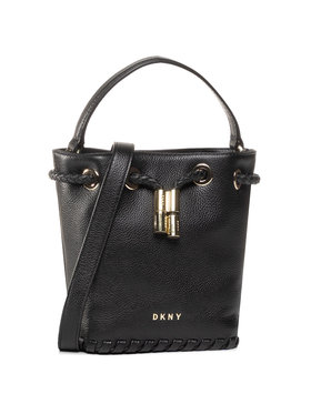 DKNY DKNY Дамска чанта Winnie Sm Bucket R02JUI94 Черен