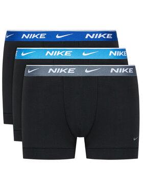 Nike Nike Komplektas: 3 poros trumpikių Everyday KE1008 Juoda