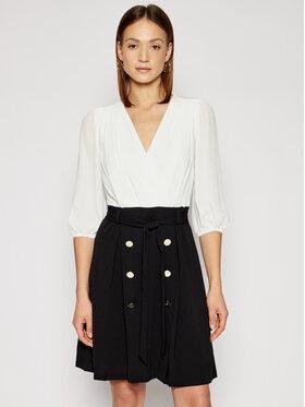 DKNY DKNY Koktejlové šaty DD1A1614 Bílá Regular Fit