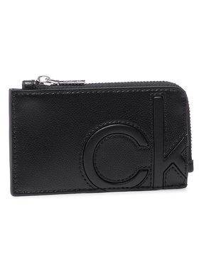 Calvin Klein Calvin Klein Custodie per carte di credito Cardholder W/Zip K60K607543 Nero