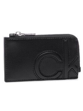 Calvin Klein Calvin Klein Étui cartes de crédit Cardholder W/Zip K60K607543 Noir