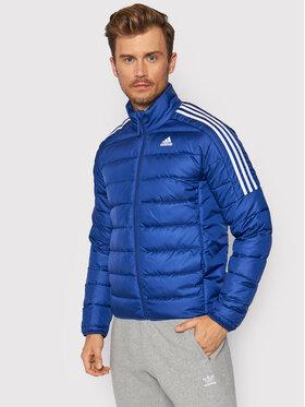 adidas adidas Doudoune Essentials GT9173 Bleu marine Slim Fit