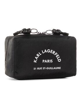 KARL LAGERFELD KARL LAGERFELD Τσαντάκι καλλυντικών 205W3221 Μαύρο