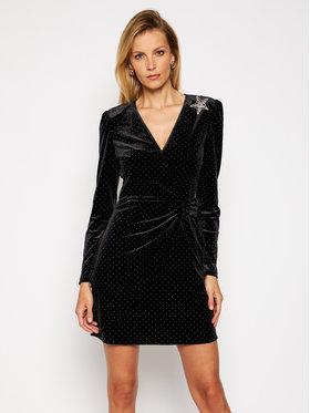 Liu Jo Liu Jo Koktejlové šaty WF0252 J6029 Čierna Slim Fit