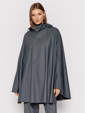 Rains Rains Poncho Unisex 1811 Gris Loose fit