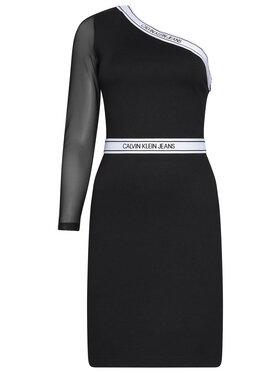 Calvin Klein Jeans Calvin Klein Jeans Ежедневна рокля Milano J20J214151 Черен Regular Fit