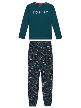 TOMMY HILFIGER TOMMY HILFIGER Pijama UB0UB00338 Verde Regular Fit
