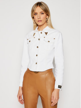Versace Jeans Couture Versace Jeans Couture Geacă de blugi C0HWA90I Alb Regular Fit