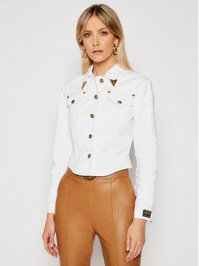 Versace Jeans Couture Versace Jeans Couture Kurtka jeansowa C0HWA90I Biały Regular Fit