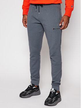 Champion Champion Spodnie dresowe 214861 Szary Custom Fit