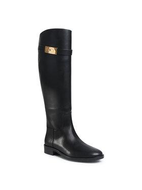Tory Burch Tory Burch Klassische Stiefel Riding Boot 77223 Schwarz