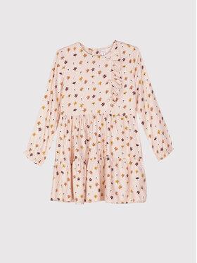 Coccodrillo Coccodrillo Sukienka codzienna ZC1128101BEU Różowy Regular Fit