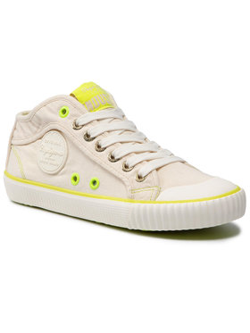 Pepe Jeans Pepe Jeans Scarpe da ginnastica Industry Neon PLS30846 Bianco