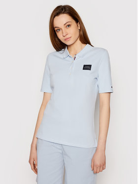 Tommy Hilfiger Tommy Hilfiger Polo marškinėliai Abo Th Ess Reg Polo Box WW0WW32607 Mėlyna Regular Fit