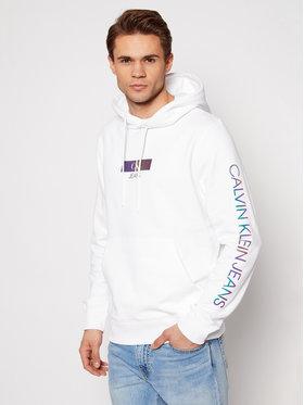 Calvin Klein Jeans Calvin Klein Jeans Felpa J30J318017 Bianco Regular Fit
